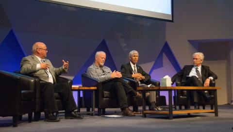 Image from a panel discussion at the Arctic Futures 2050 Conference