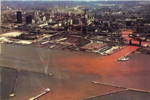 The Cuyahoga River and Cleveland