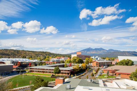 NAU Campus Overview Photo