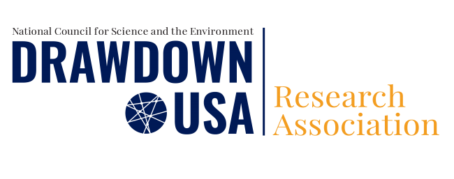 National Council for Science and the Environment Drawdown USA Research Association logo