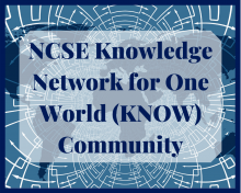 NCSE Knowledge Network for One World (KNOW) Commuunity